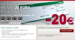 Promo Alitalia - 20 Euro
