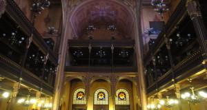 Sinagoga di Budapest - Soppalco