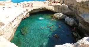 Piscine Naturali - Grotta della Poesia - Puglia