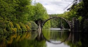Rakotz Bridge - Ponte del Diavolo - Sassonia Germania