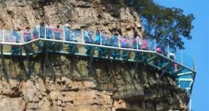 Ponte di Vetro - Cina Henan - Walkway di Cristallo