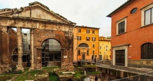 Ghetto Ebraico di Roma - Portico d'Ottavia