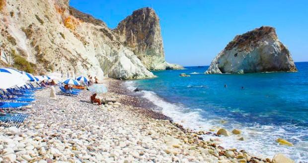 Spiagge di Santorini - Akrotiri White Beach