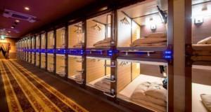 Capsule Hotel - Giappone - Disposizione