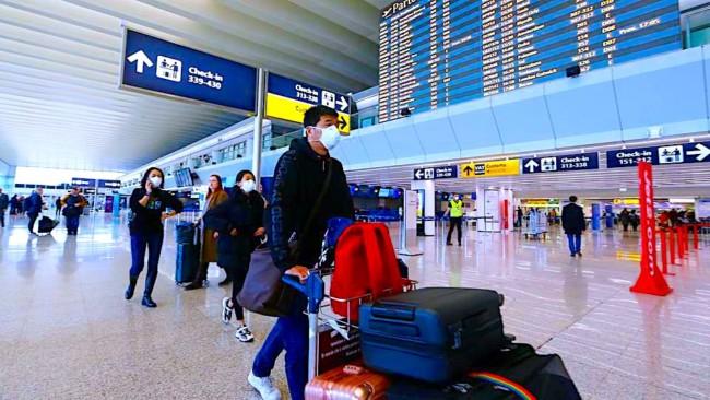 Coronavirus e Viaggi in aereo